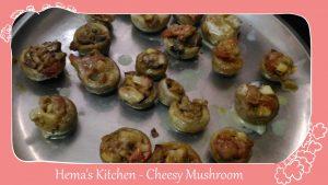 Cheesy Mushroom