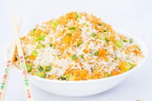 24 Burnt garlic rice
