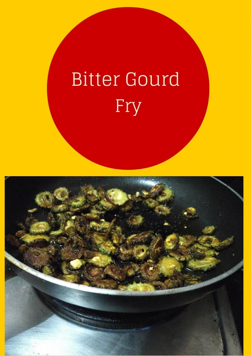 Bitter gourd fry