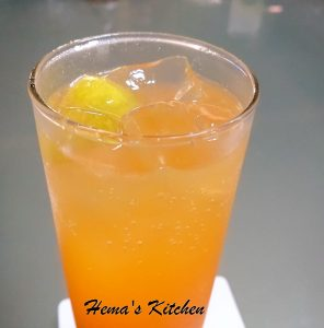 Kiwi Orange Mocktail