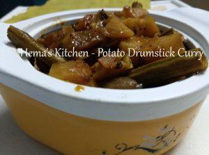 Potato Drumstick Curry