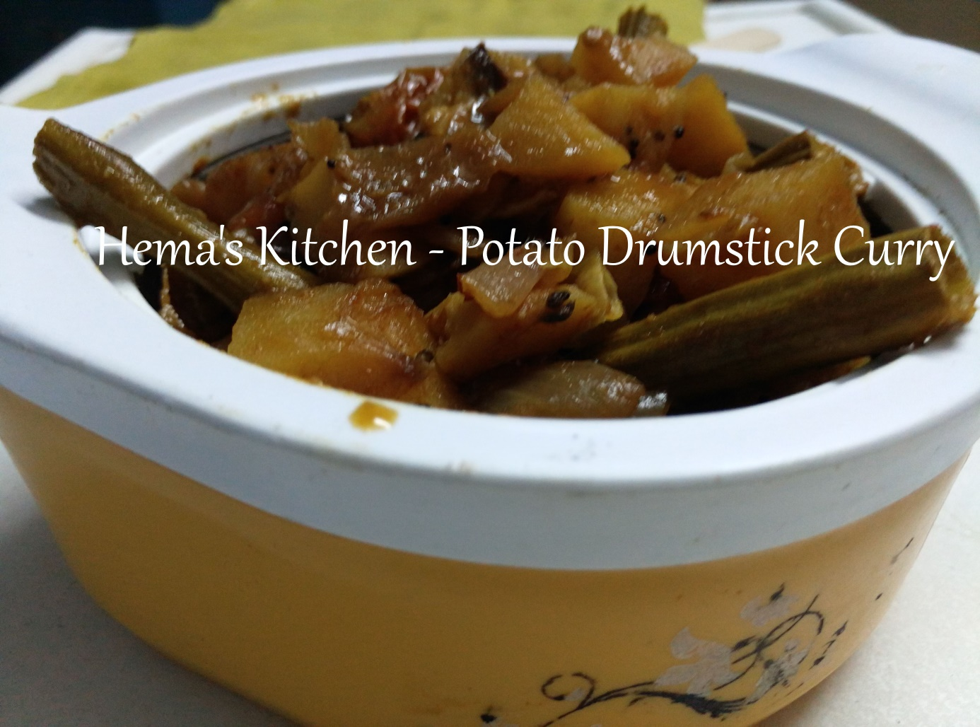 Potato Drumstick Curry