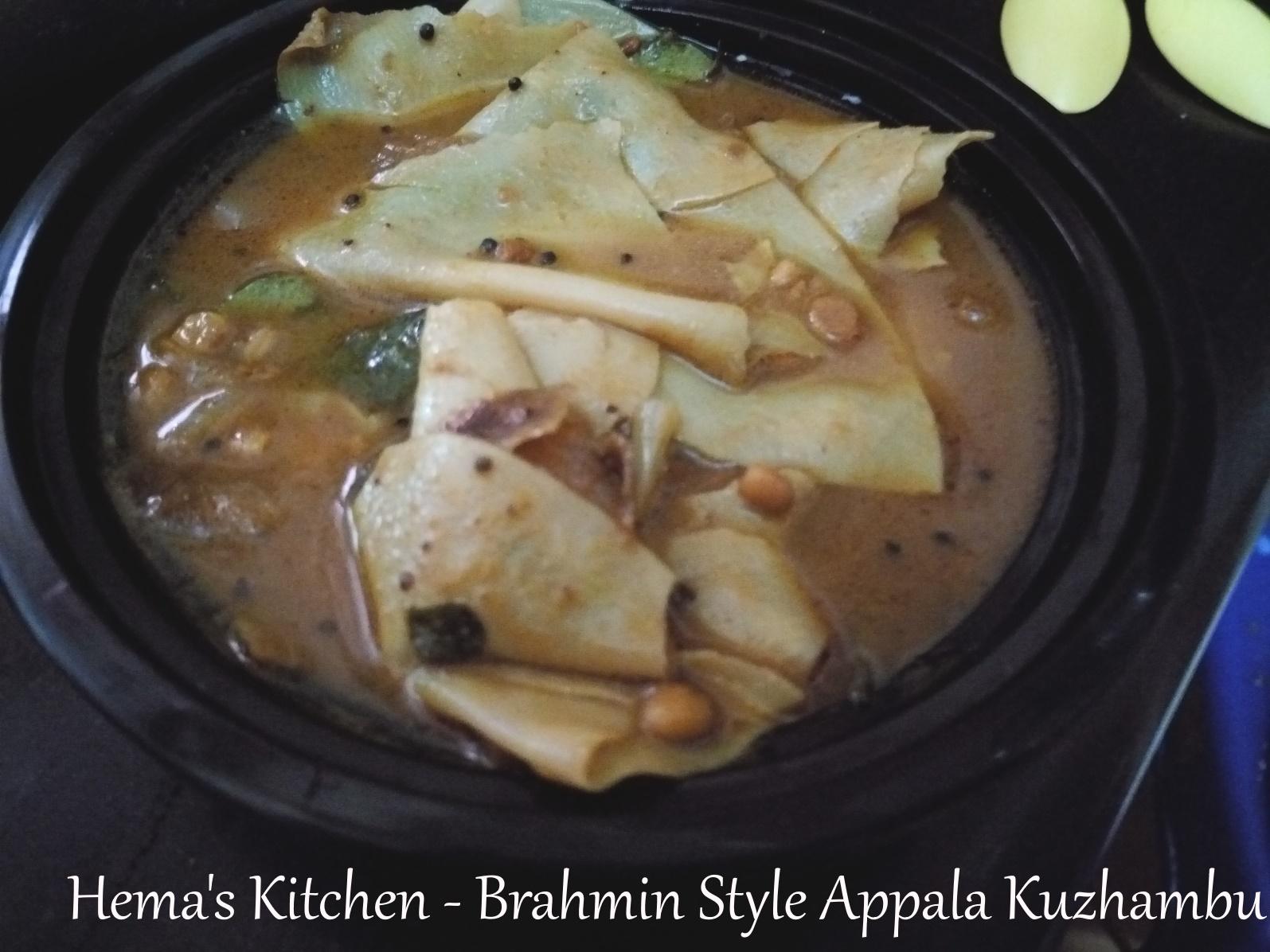 Appala Kuzhambu1