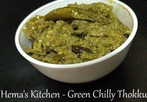 Green Chilly Thokku