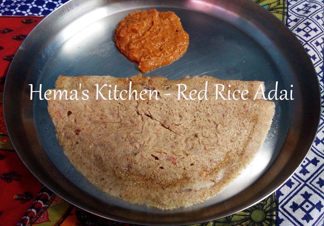 Red rice adai