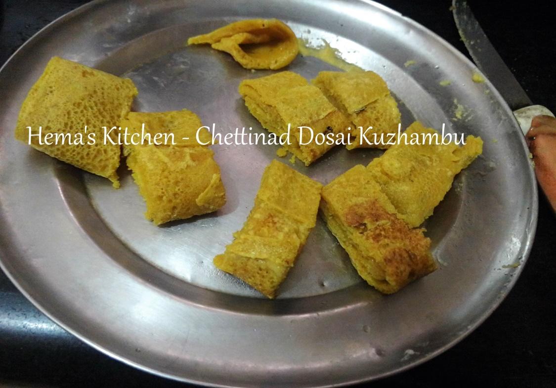Chettinad Dosai Kuzhambu