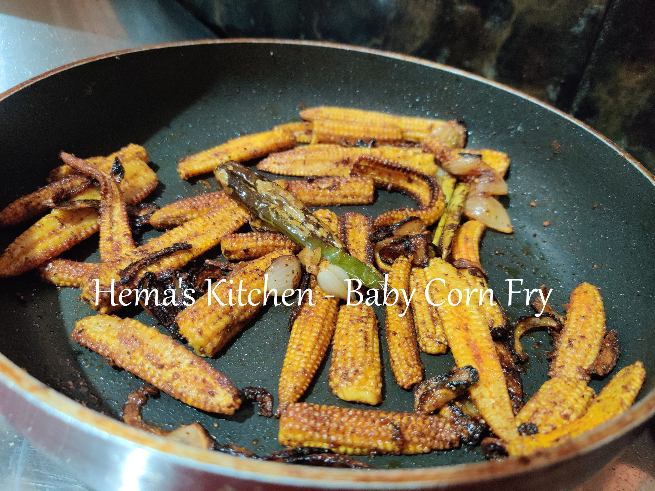 Baby corn Fry