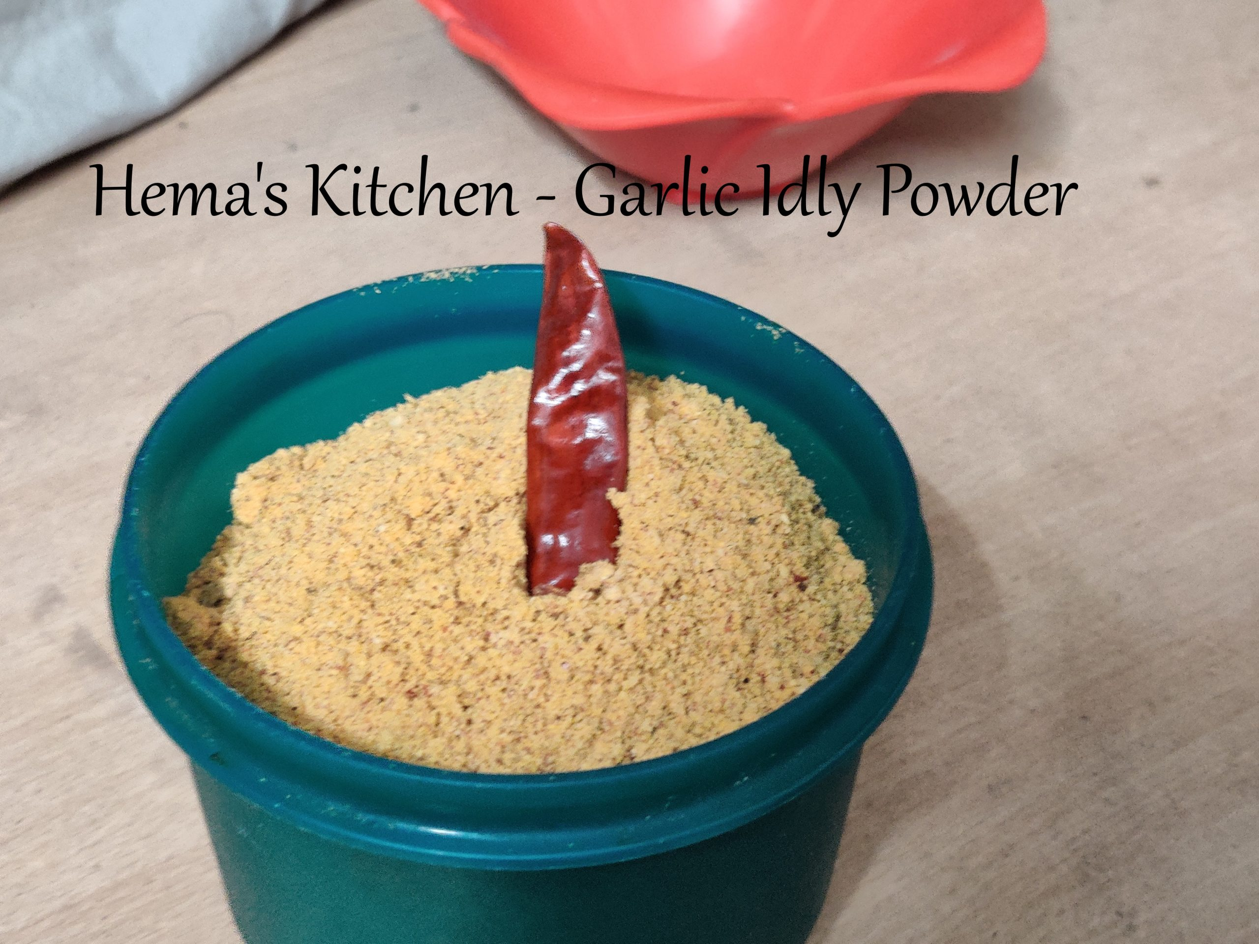 Garlic Idly Powder