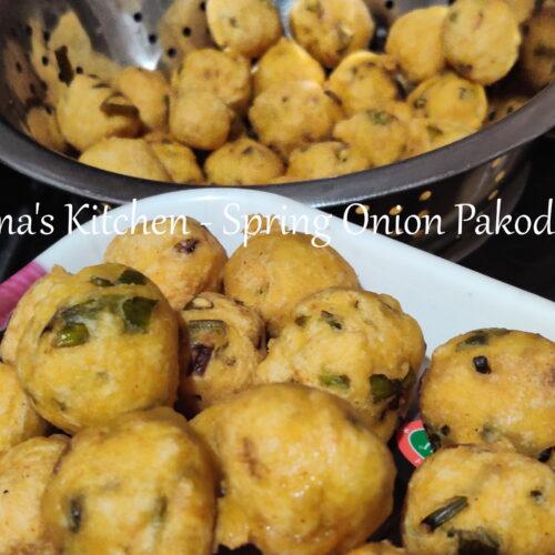 Spring Onion Pakoda