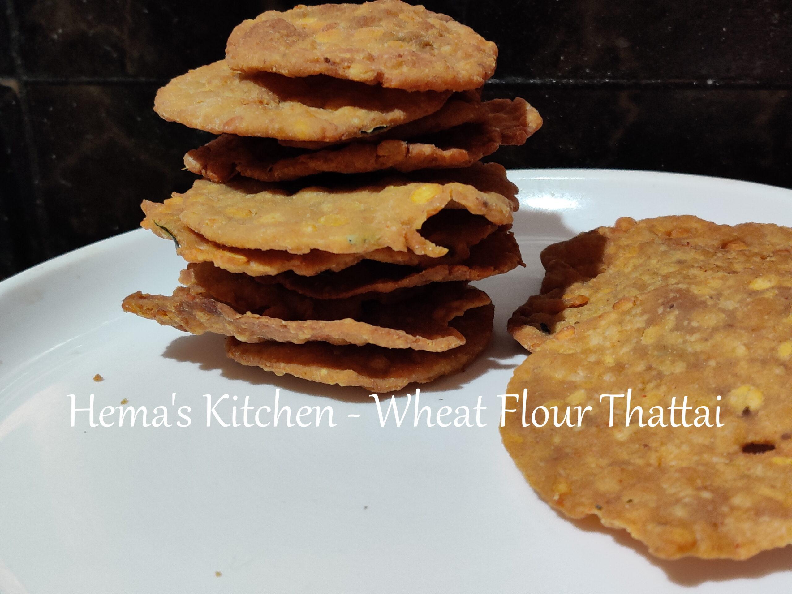 Wheat Flour Thattai