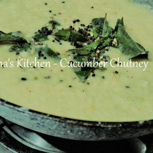 Cucumber Chutney